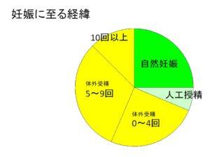 妊娠に至る経緯グラフ